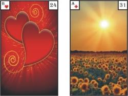 Lenormandkarte 24 und 31