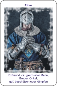 Lenormand Tarotkarte Ritter