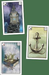 3 Lenormandkarten